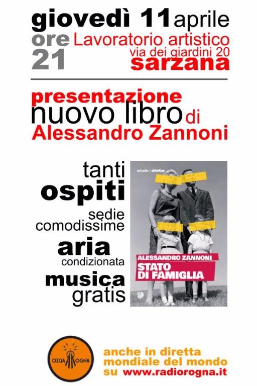 Alessandro-Zannoni---Stato-di-famiglia---SideKar-collana--di-Arkadia-Editore