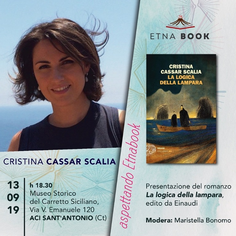 #ASPETTANDO-Etnabook-con-Cristina-Cassar-Scalia---L'ORA---AGGIONAMENTO