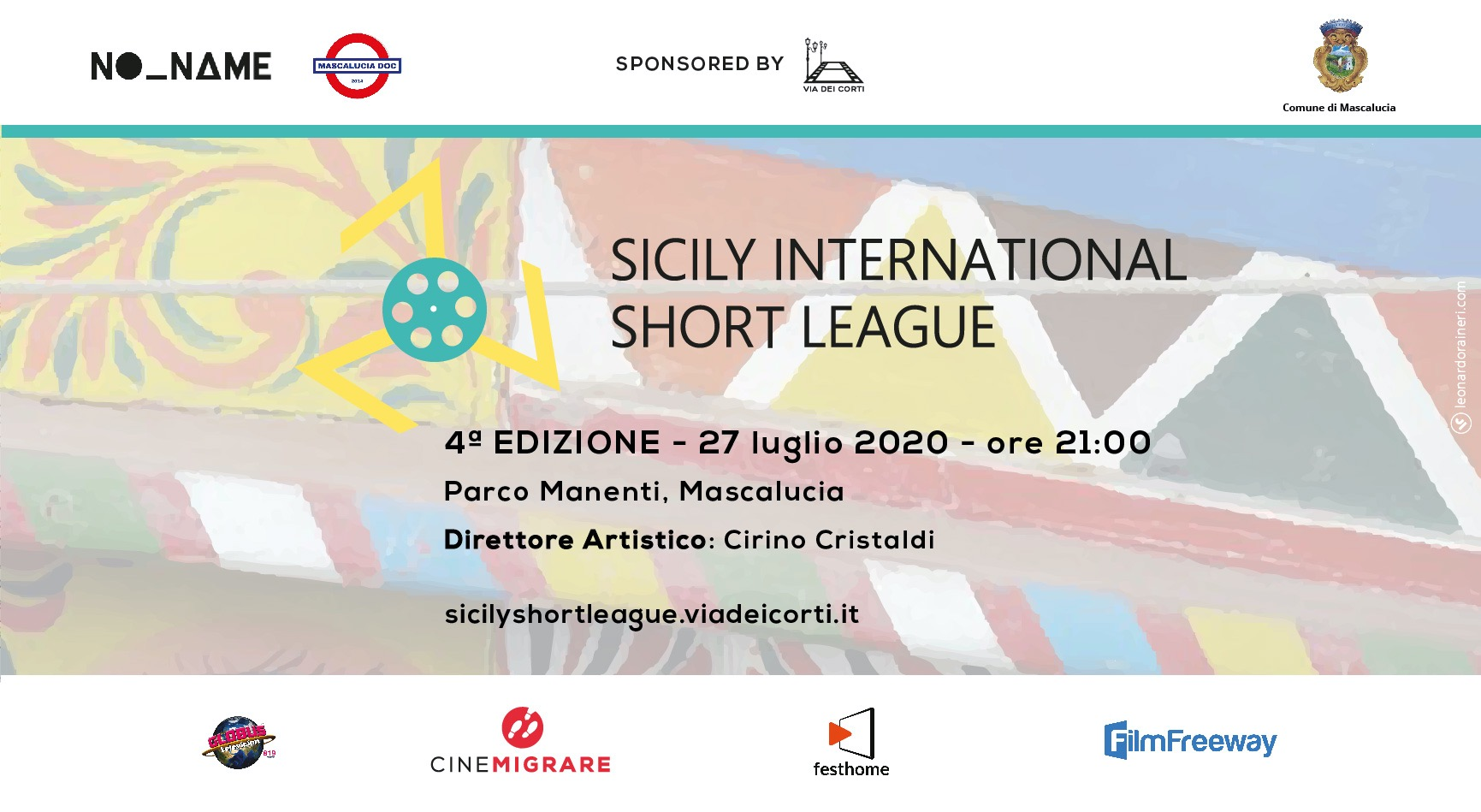 Il 27 luglio 2020 torna Sicily International Short League 2020